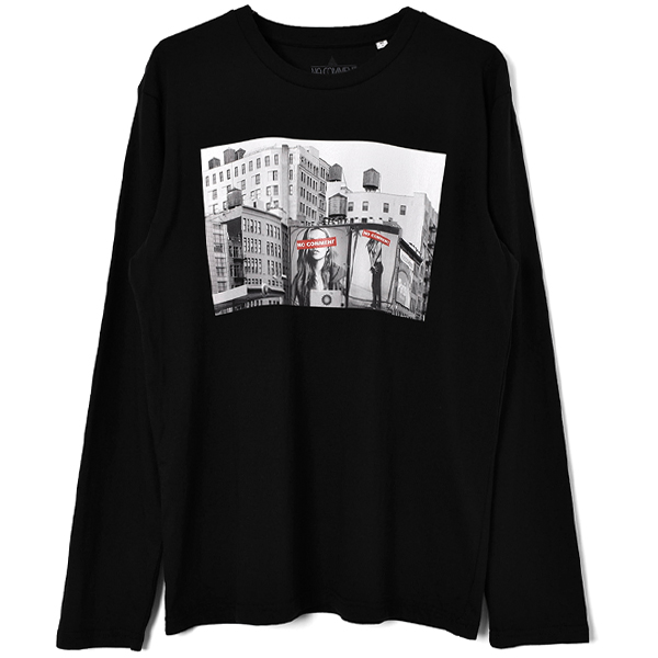 billbord L/S T-SH/BLACK