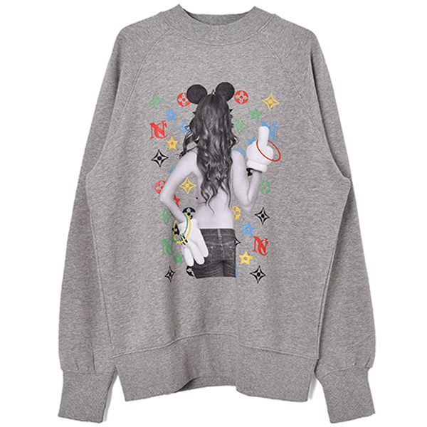 OLYMPIC SWEAT/GRAY