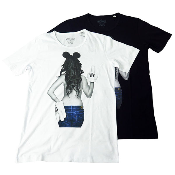 BAD MICKEY GIRL S/S T-SH