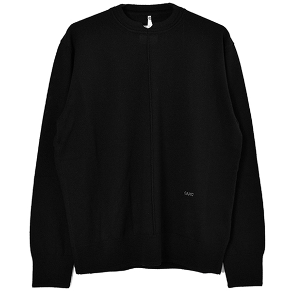 WASCO CREWNECK KNIT SWEATER/BLACK