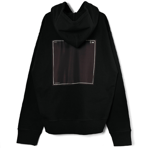 MARK HOODIE JERSEY KNITTED/BLACK