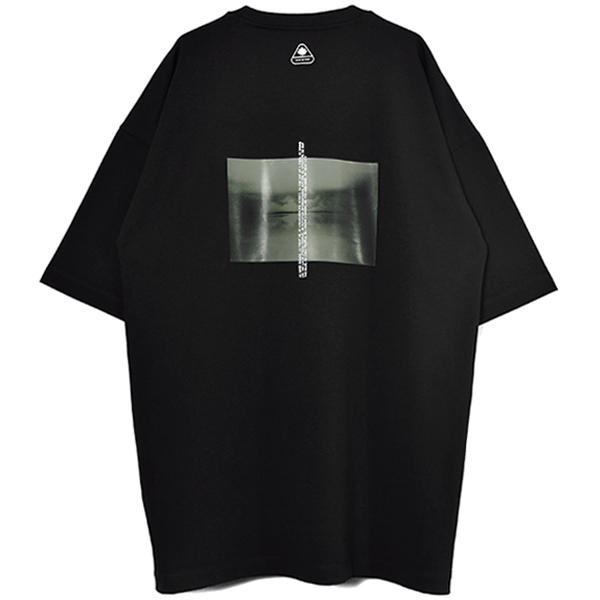 LOGO PRINT T-SHIRT/BLACK
