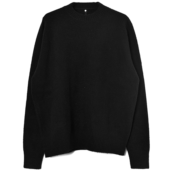 WHISLER CREWNECK KNIT/BLACK