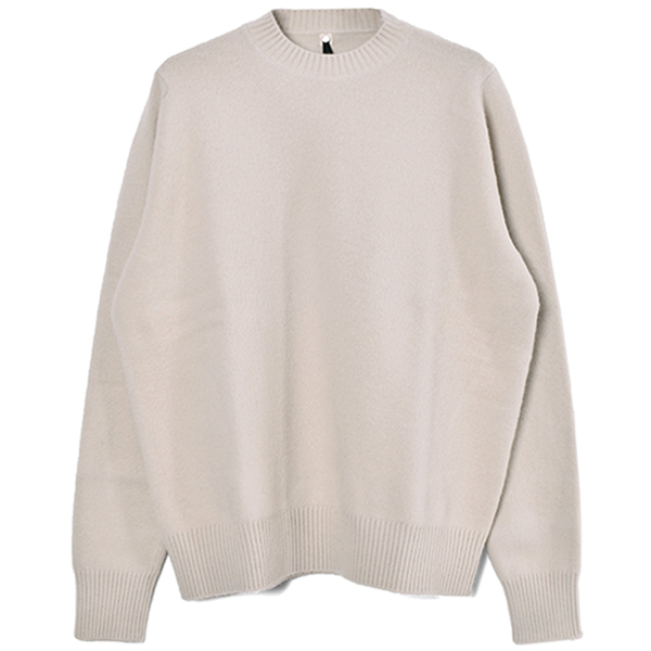 WHISLER CREWNECK KNIT/LIGHT STONE