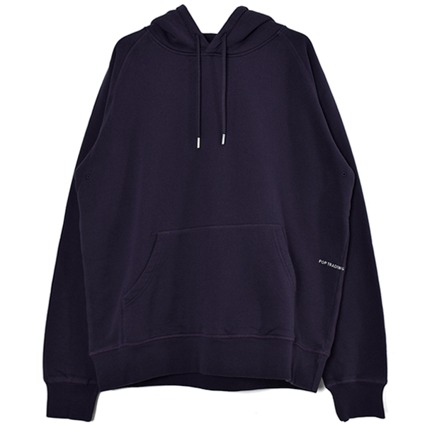 Pop Logo Hooded Sweat/Dark Purple