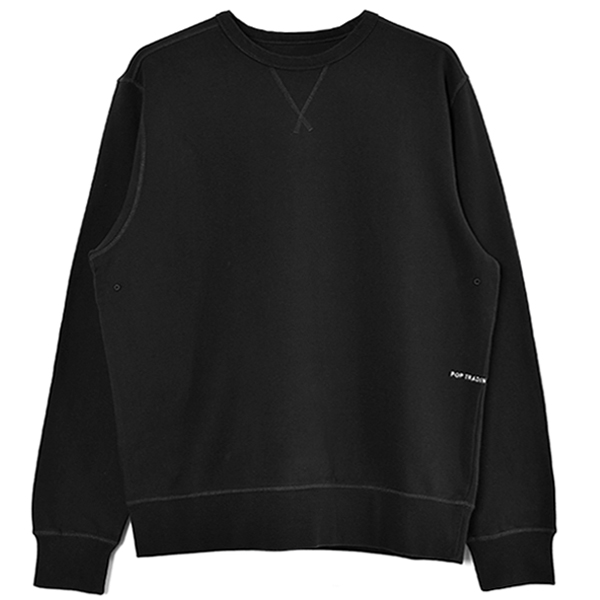Pop Logo Crewneck Sweat/Anthracite