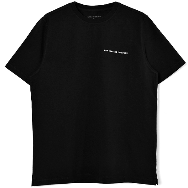 Pop Logo T-Shirt/Black/BLACK