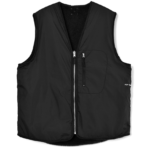 Pop Harold Reversible Vest/Anthracite