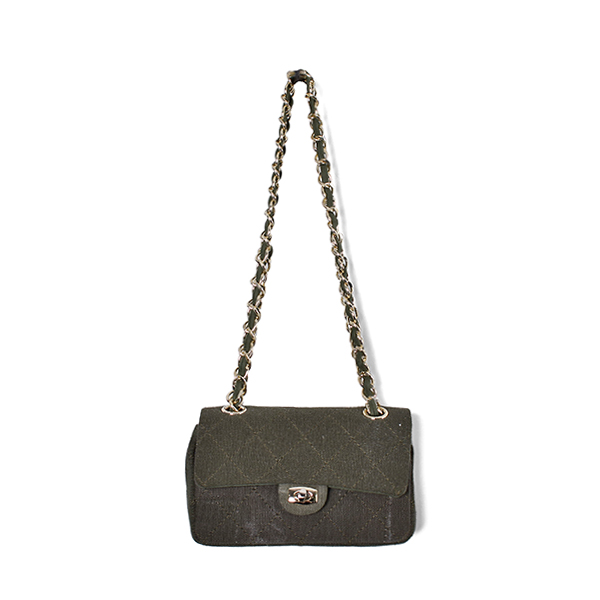 CHAIN BAG/KHAKI