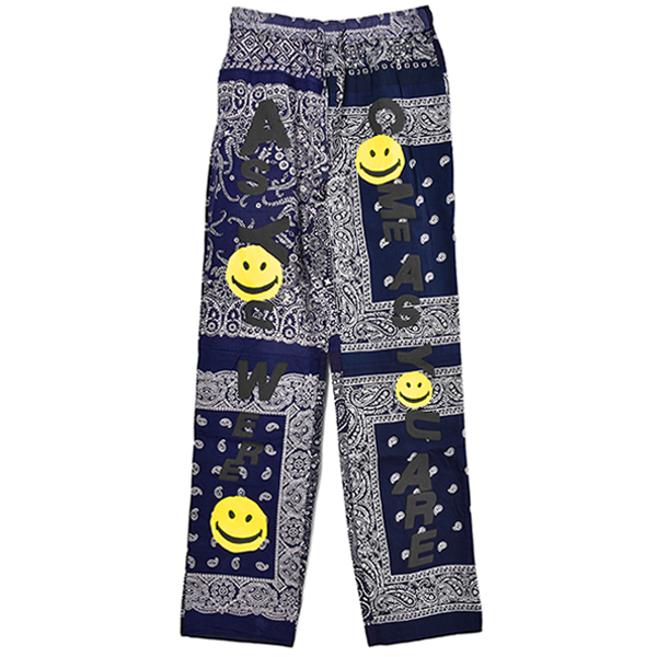 SLEEPING PANTS/NAVY