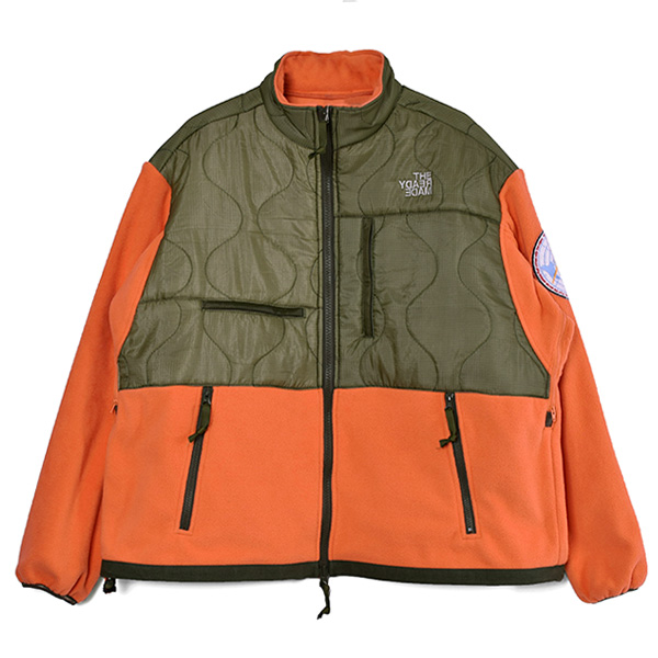 FREECE JACKET/ORANGE