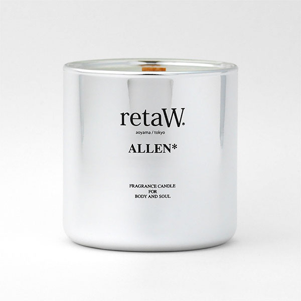 Fragrance Candle ALLEN* SILVER