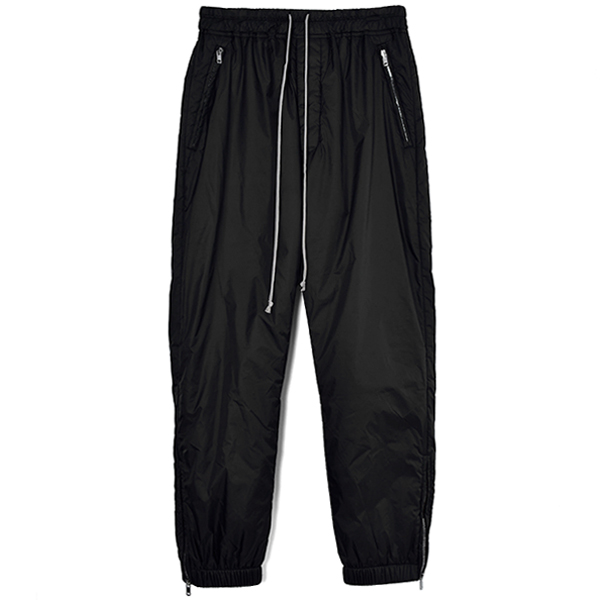 CROPPED TRACK PANTS/BLACK
