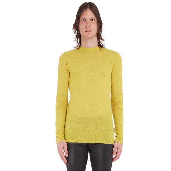 BIKER LEVEL ROUND NECK/ACID YELLOW