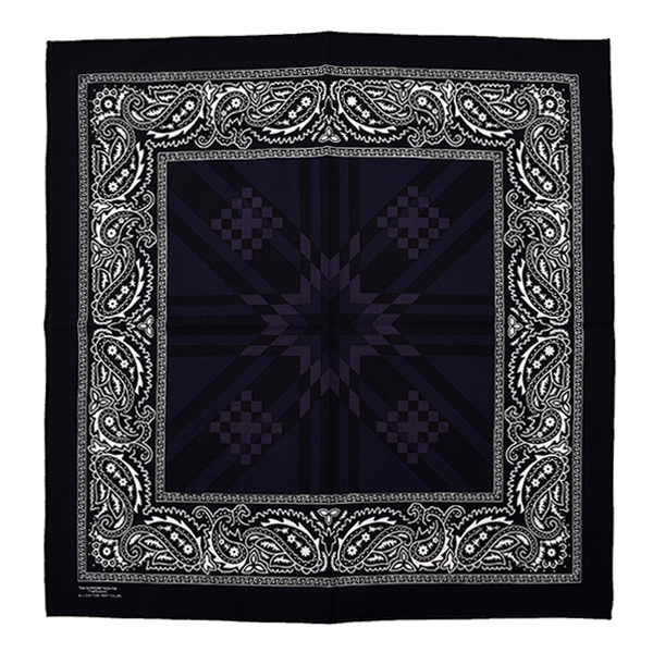 bandana./black×midnight×eggplant