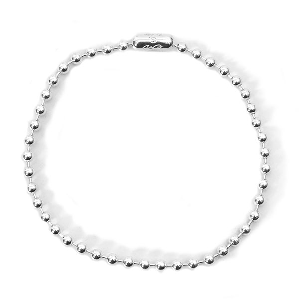 ball chain bracelet -S- regular./silver
