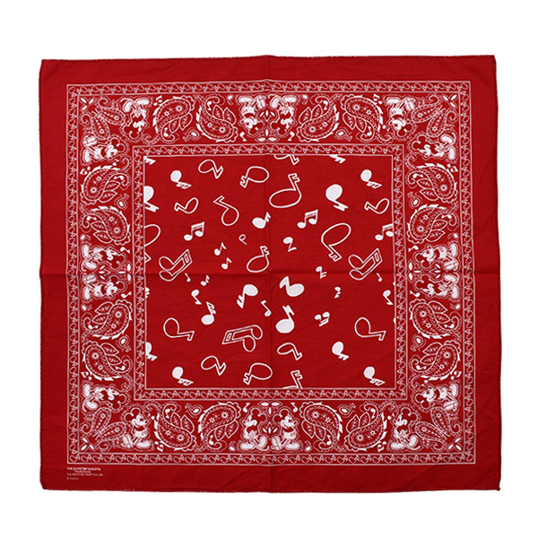 Mickey Mouse bandana./red