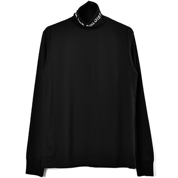 turtleneck l/s tee/black