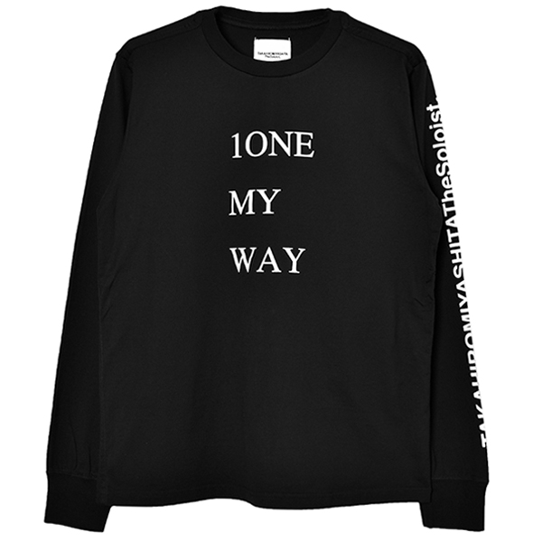 1ONE MY WAY/black