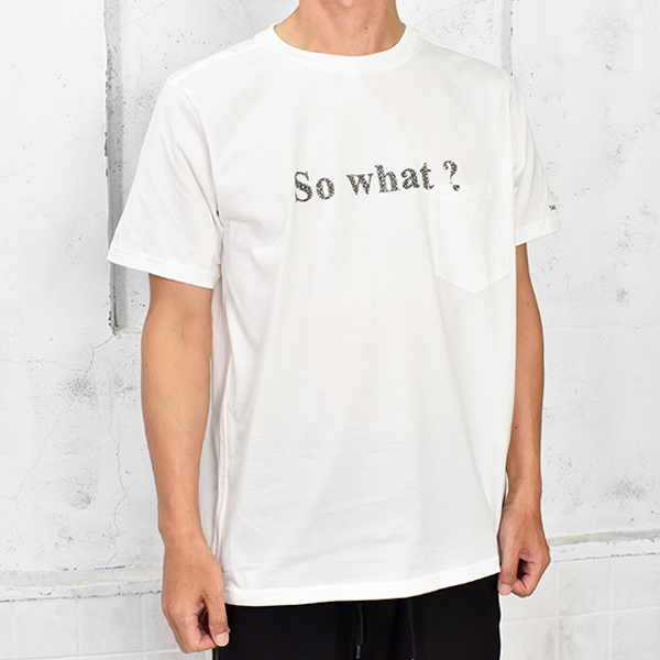 So what? s/s/white