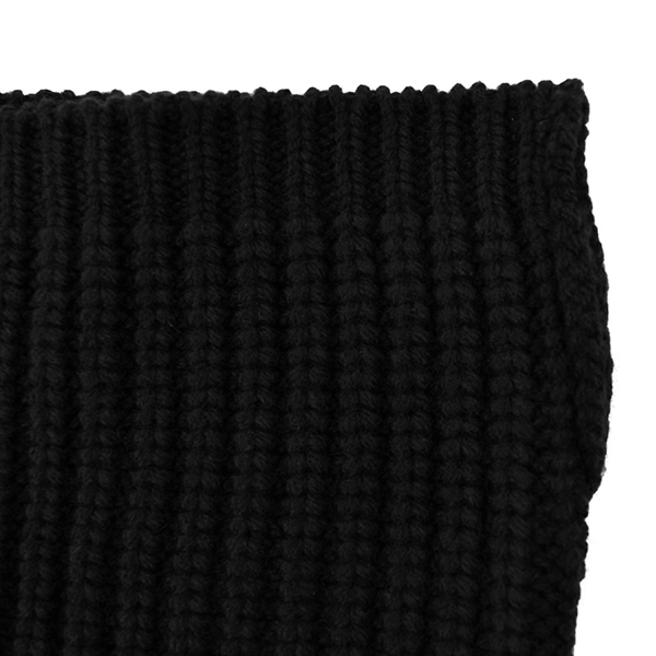 neck warmer./black