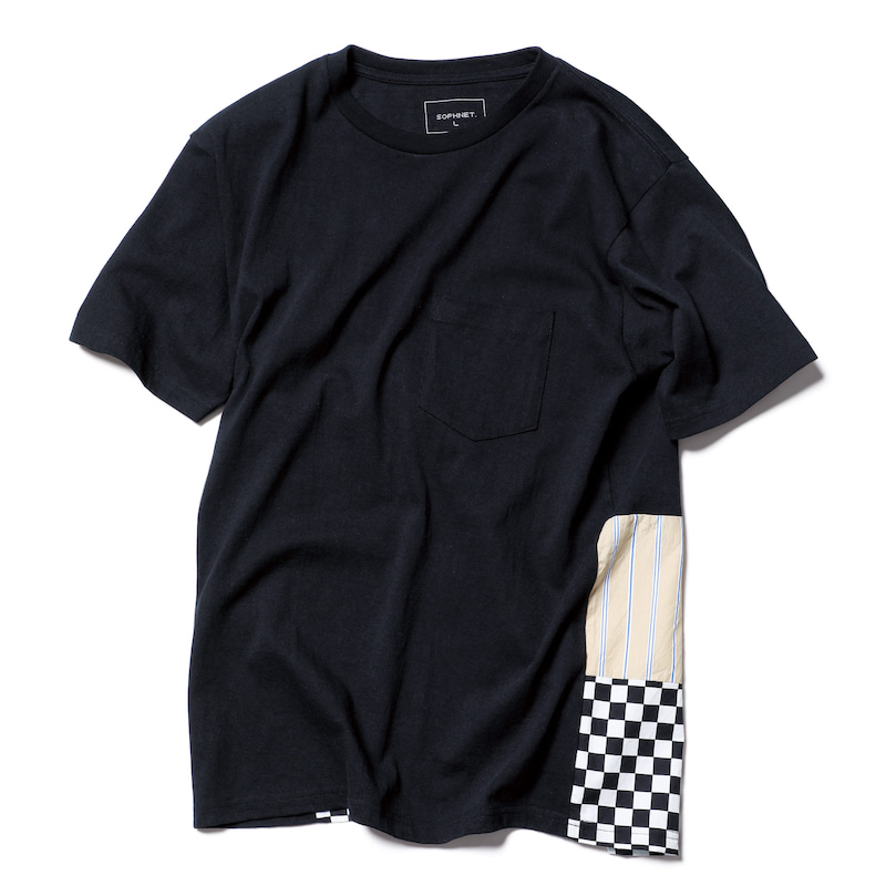 BACK PANELED TEE(SOPH-192087)