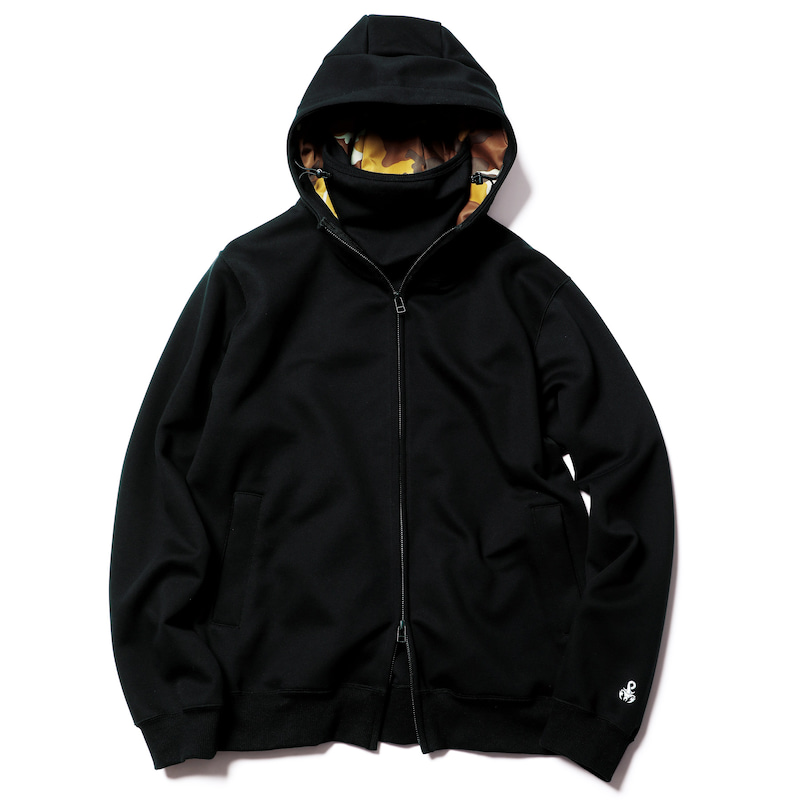 NECK GATER ZIP UP HOODIE(SOPH-192101)