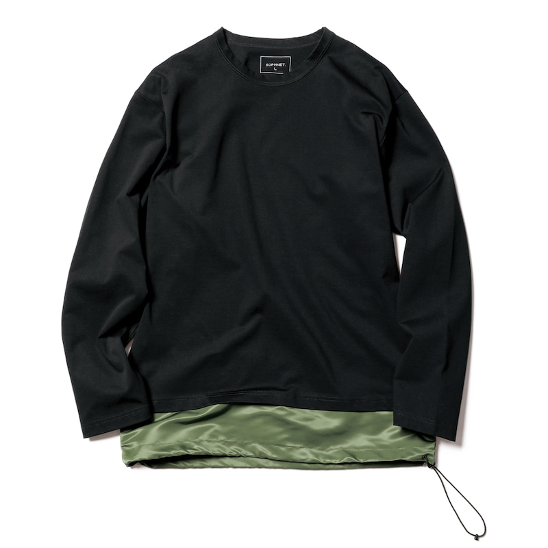 L/S FAKE LAYERED CUT&SEWN(SOPH-200075)