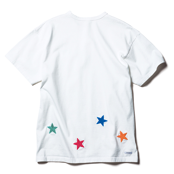 STAR EMBROIDERY TEE(SOPH-200092)