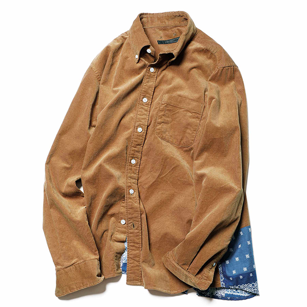 【ポイント30倍】BACK HEM PANELED B.D SHIRT(SOPH-202063)