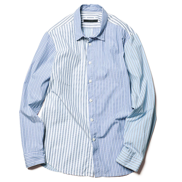 【ポイント30倍】PANELED REGULAR COLLAR SHIRT(SOPH-202072)