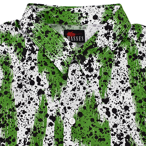 SPLASH SHIRT L/GREEN