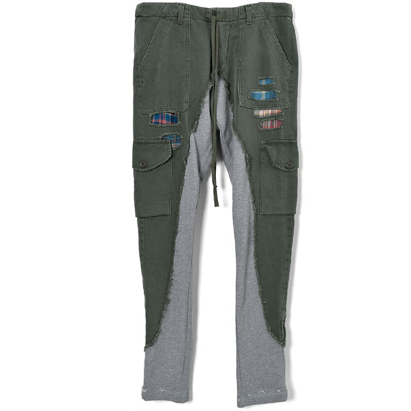 50/50 Long Slim/ARMY/GREY