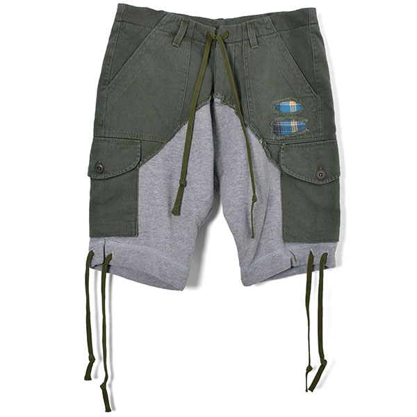 Cargo Short/ARMY/GREY