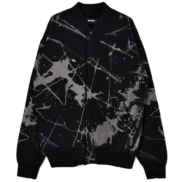 SWEAT CARDIGAN DC/BLACK