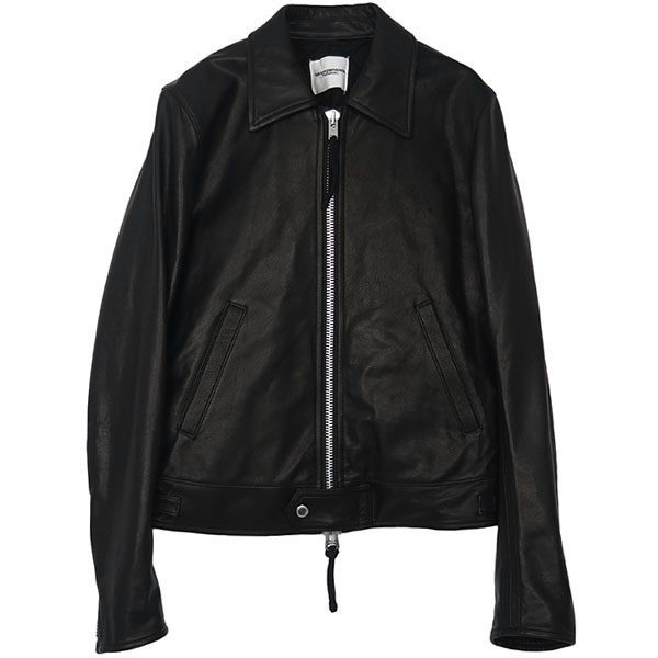 motorcycle jacket./black