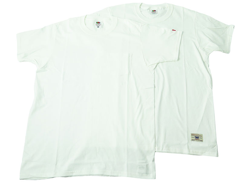 [TMT×FRUITS OF THE LOOM]PACK-TEE(TCS-S18FL01)