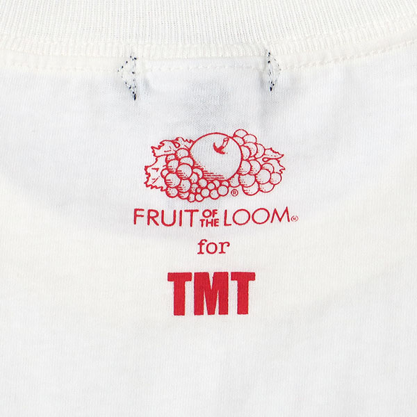 TMT×FRUIT OF THE LOOM TEE (BIGHOLIDAY)/WHITE(TCSS18FL06)