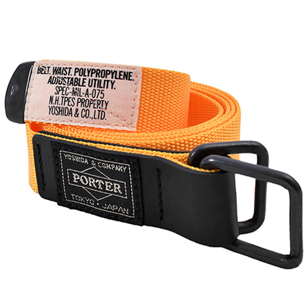 [N.HOOLYWOOD×PORTER] BELT/YELLOW