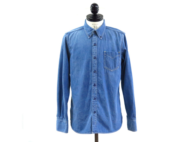 L/SL REGULAR DENIM BD SHIRT(TSH-S1502)
