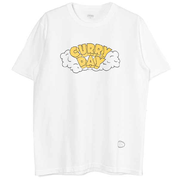 CURRY DAY TEE/WHITE(T-1132)