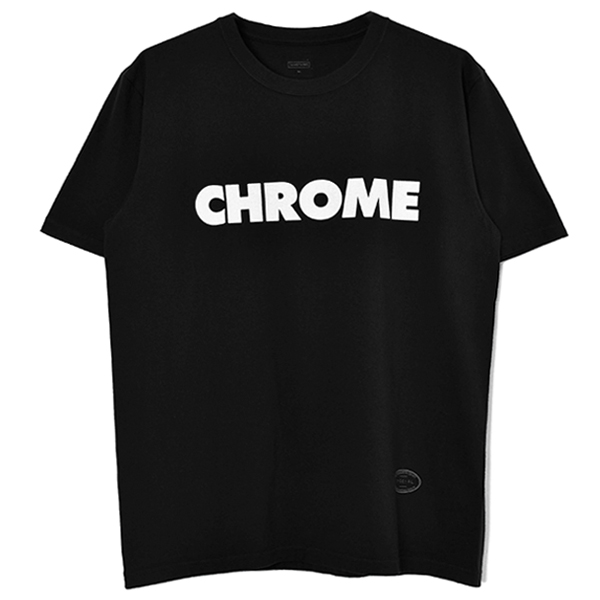 AIN'T CHROME TEE/BLACK
