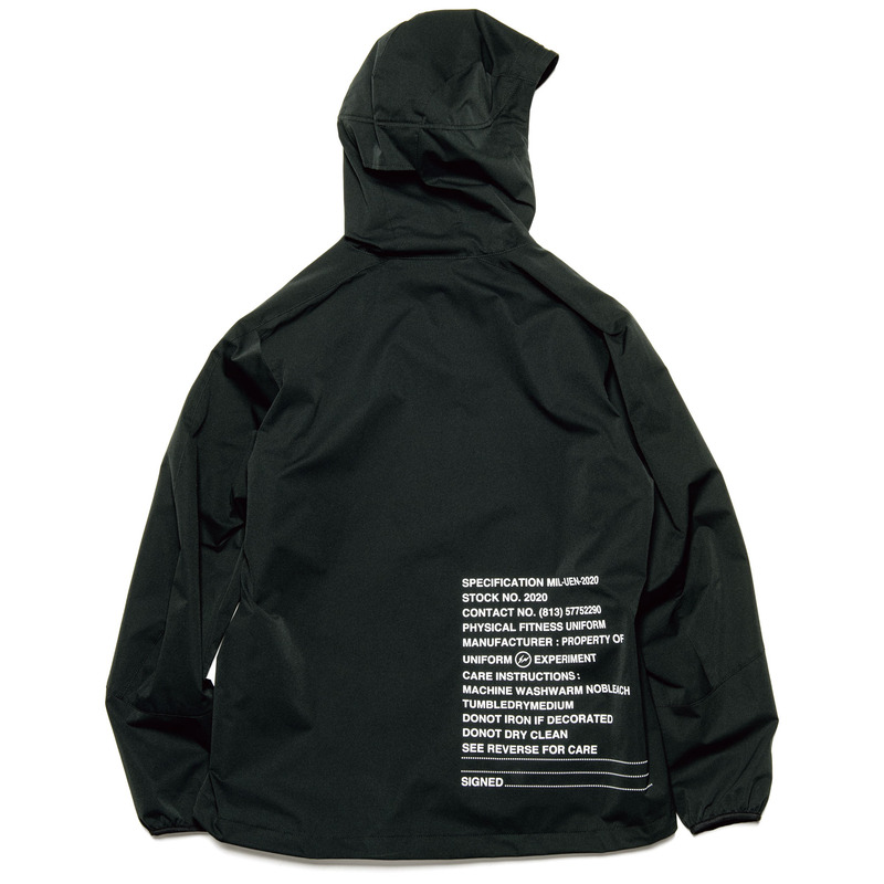 MIL ZIP HOODED BLOUSON(UE-200046)