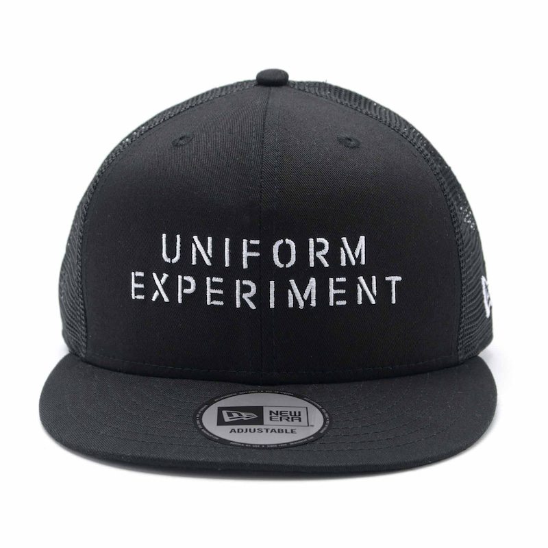 NEW ERA STENCIL LOGO 9FIFTY SNAP BACK MESH CAP(UE-200086)