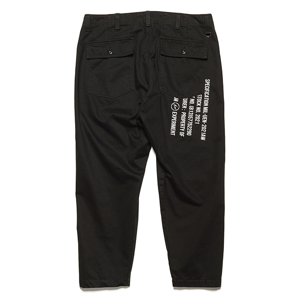 TAPERED FATIGUE PANTS(UE-202010)
