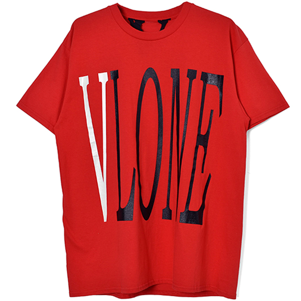 LOGO SS TEE/RED×WHITE×BLACK