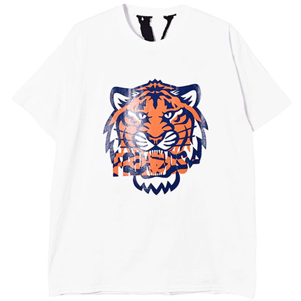 TIGER SS TEE/WHITE