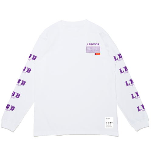 COTTON BIG LGD PRINT L/S TEE