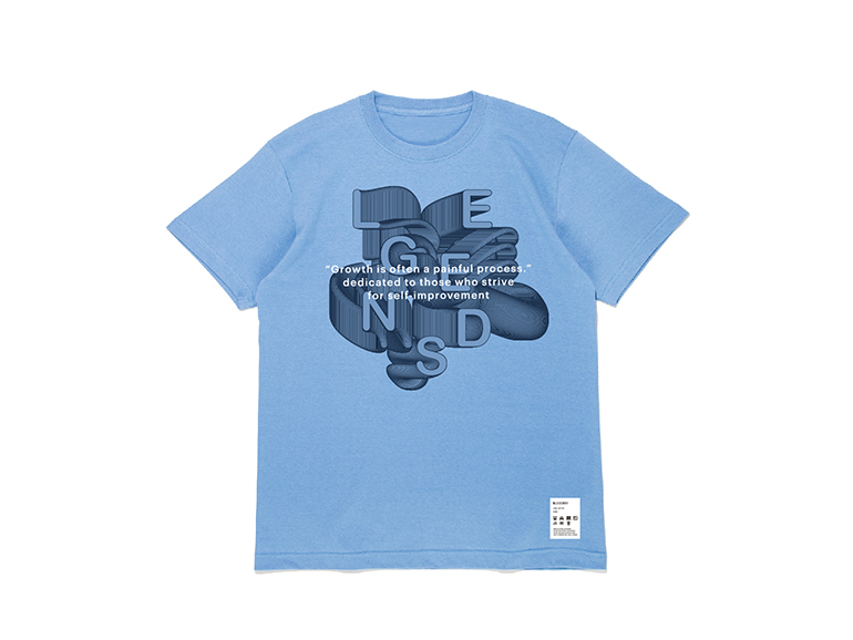 COTTON BIG MOVE GRAPHIC S/S TEE