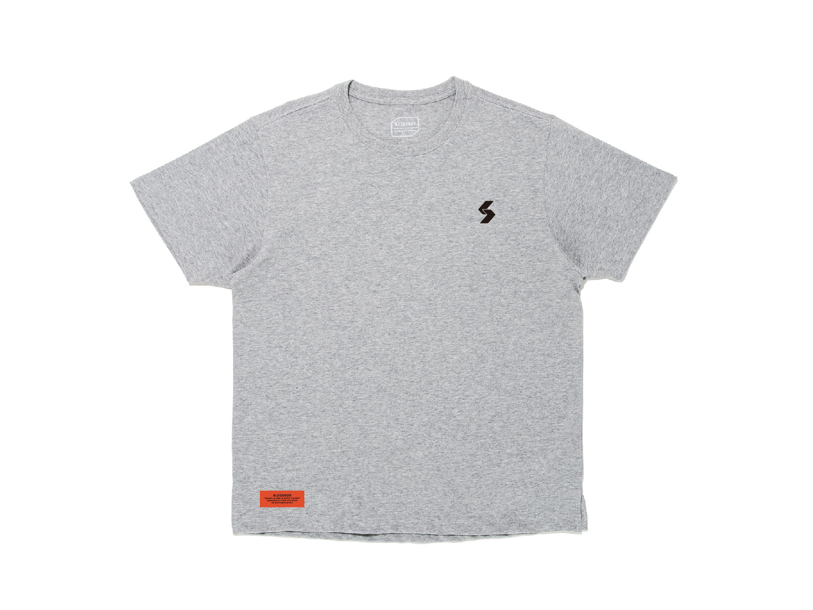 COTTON ONE POINT LOGO S/S TEE